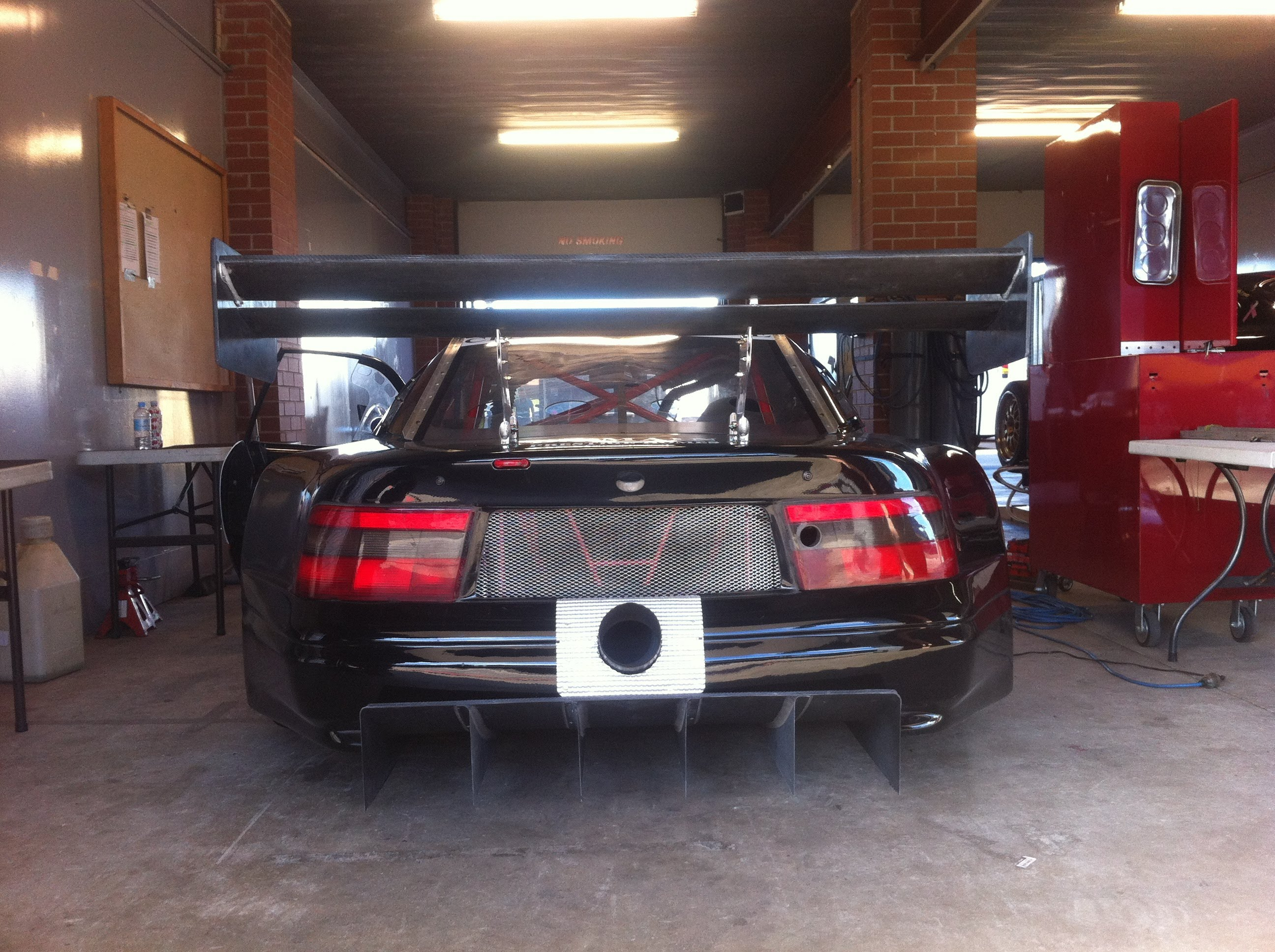 Daniel Steven Tamasi Holden Calibra Carbon Fibre Race Car Sport Sedan Rear