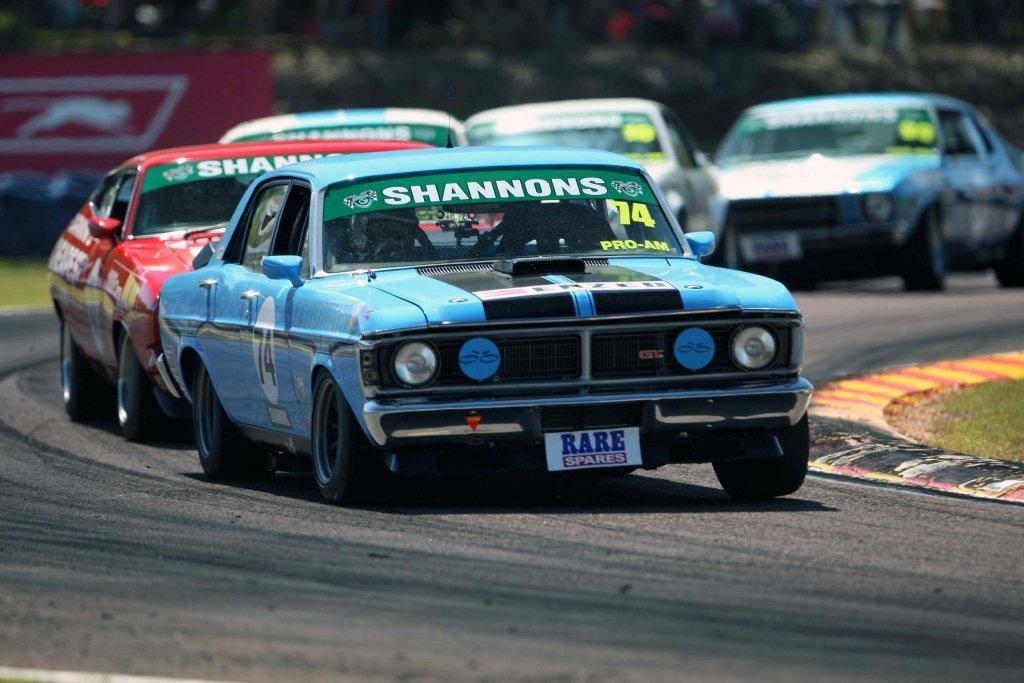 Wayne Mercer GTHO Touring Car Masters Race Car Fibreglass Rare Spares